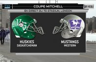 1/2 Finale U Sports – Coupe Mitchell – Saskatchewan c. Western